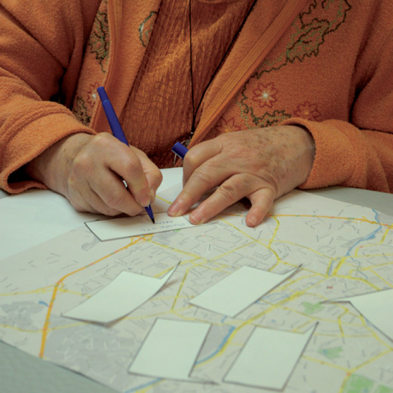 """Test de """"profil cartographique"""" par les membres d'une chorale"""