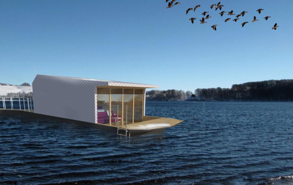 Ecolodge flottant Iddil