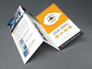 Brochure dépliante 3 volets
