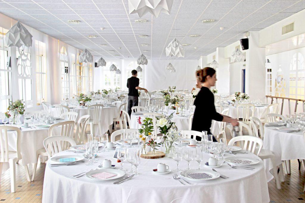 Salle de mariage - Design d'espace événementiel
