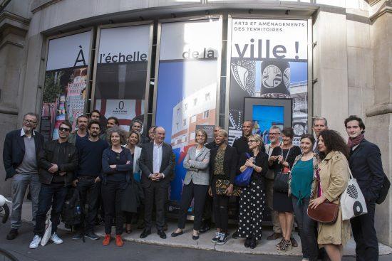 Pierre Cahurel agence créative Grrr - Françoise Nyssen - exposition à l'échelle de la ville Paris